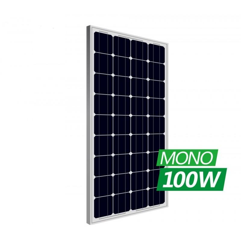 12V 100W MONOCRYSTALLINE SOLAR PANEL MODULE