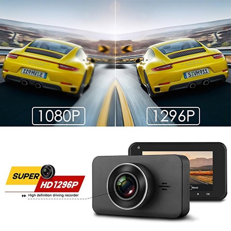 CAR DASHBOARD CAMERA 1080p 3.0 INCH G-SENSOR HD  WITH LOOP RECORDING